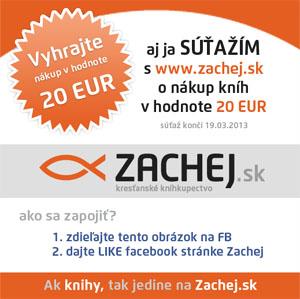 Súťaž o nákup v hodnote 20 EUR!
