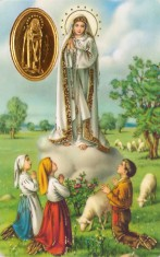 RCC kartička - Modlitba Panny Márie z Fatimy