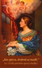 Obrázok: Sv. Cecília - Pieseň Kráľovná nebies