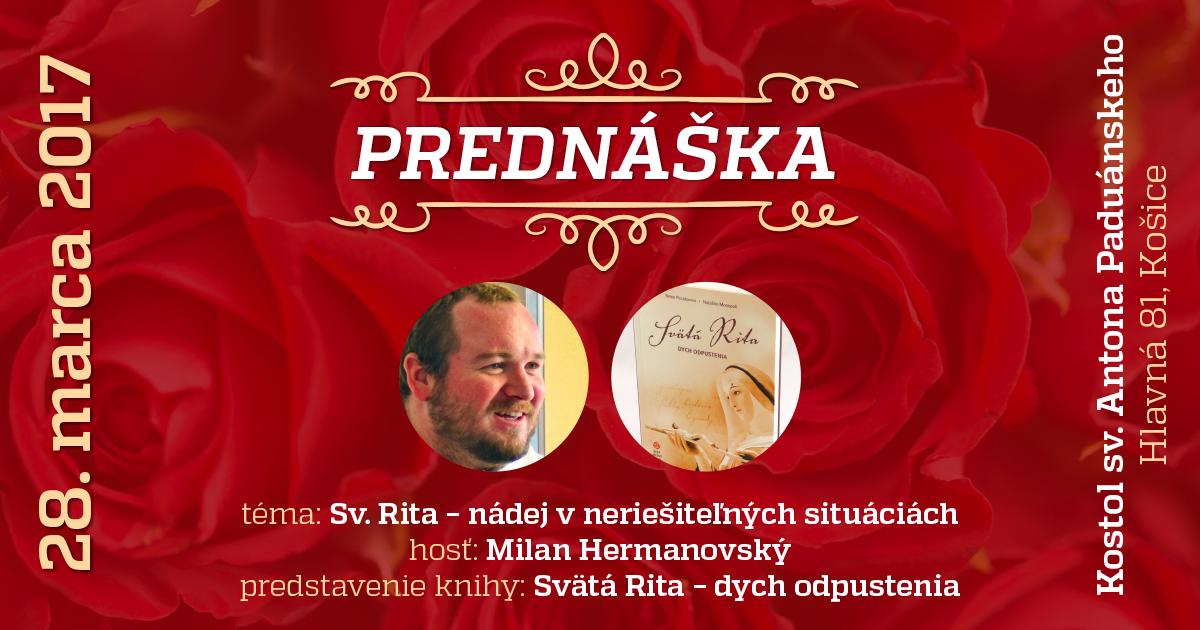 Vezmi a čítaj: Sv. Rita - nádej v neriešiteľných situáciách