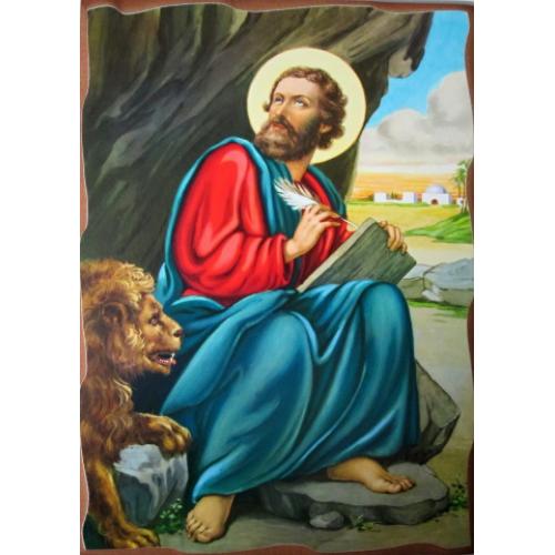 Obraz na dreve sv. Marek