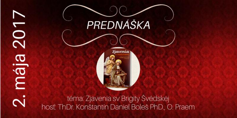 Vezmi a čítaj - Zjavenia sv. Brigity Švédskej